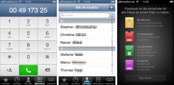 iOS 6 design mess