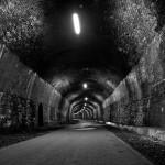 Headstone Tunnel in Monsal Dale. Peak District of Derbyshire, UK, 2012.