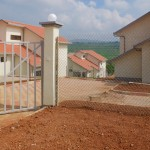 Gaculiro, a newly-built neighborhood in Kigali. Rwanda 2011