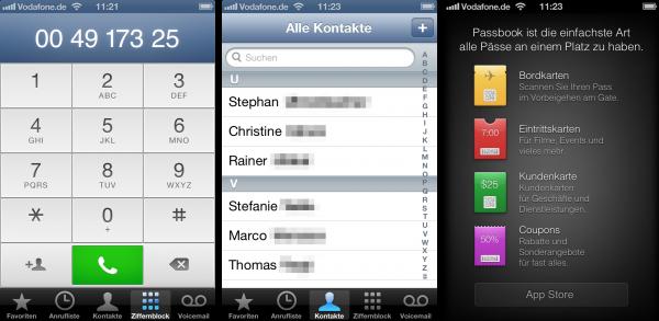 iOS 6 design mess