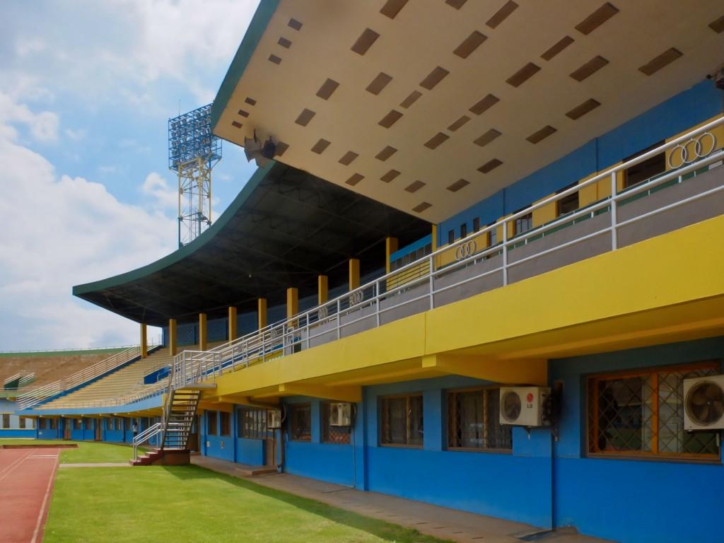 Stade Amahoro in Kigali. Rwanda, 2011