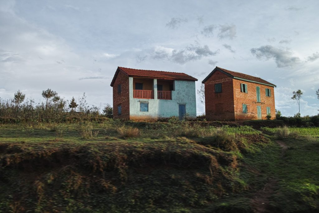 Roadside the RN7 from Tana to Antsirabe