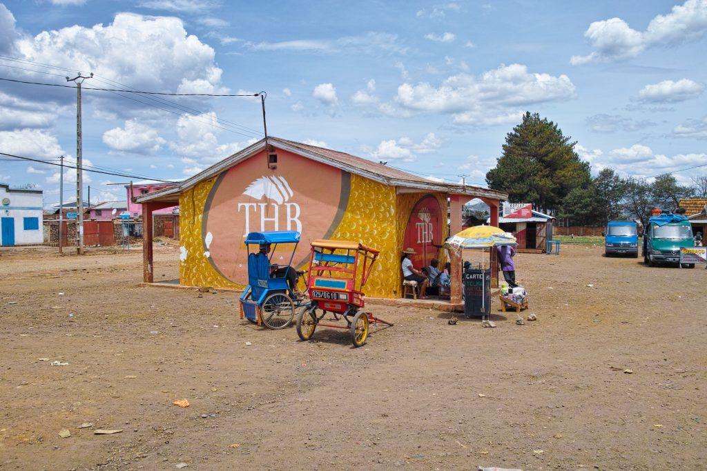 Bus station in Antsirabe