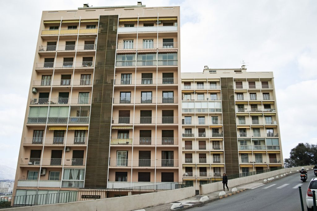 70s architecture in Ajaccio