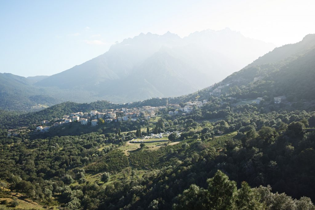 View on Moltifao from La Ventulella