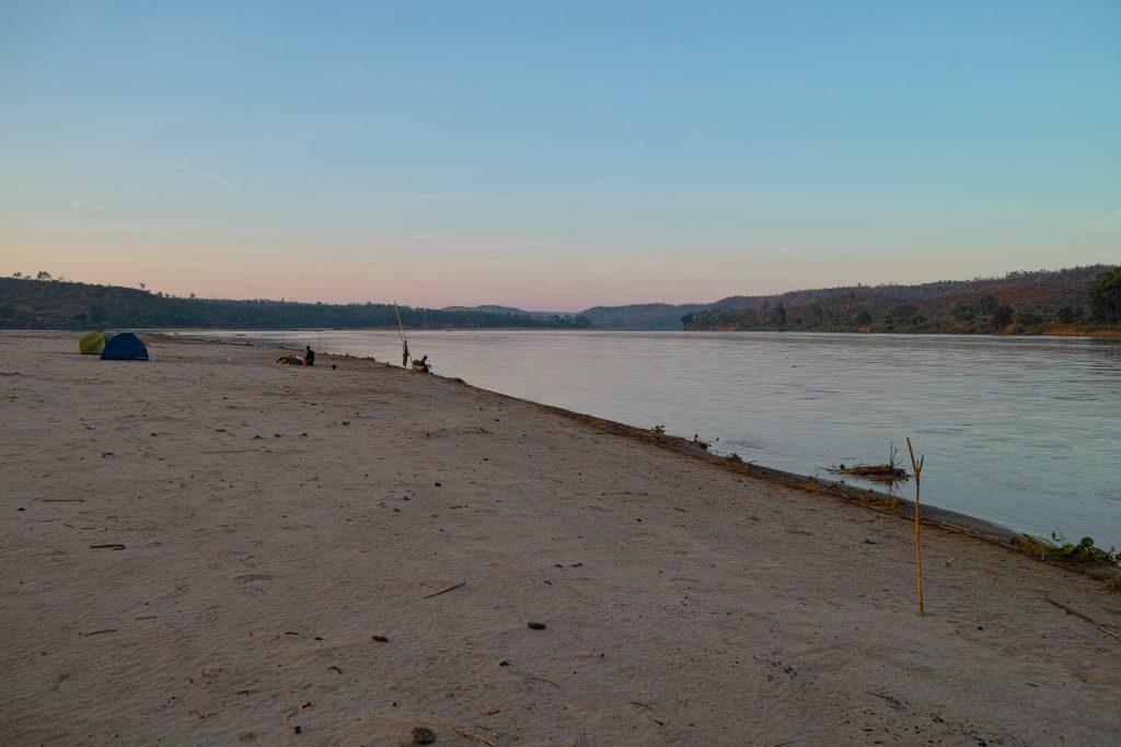 Tsiribihina River campsite