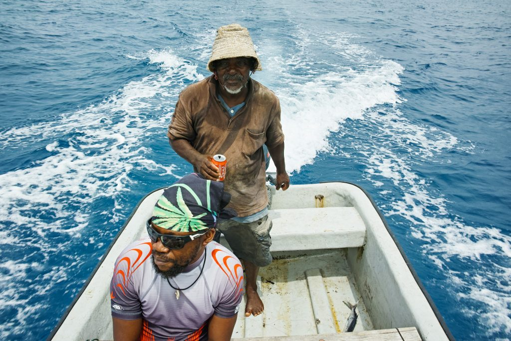 Fishing with Mickey from the Baobab Magic