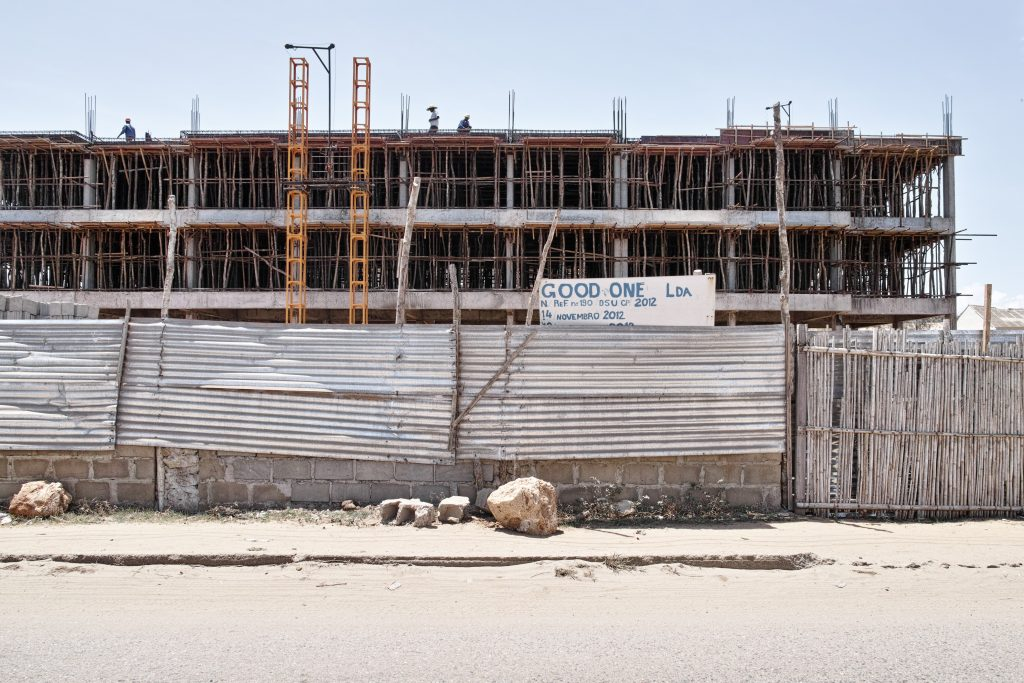 Construction site in Pemba