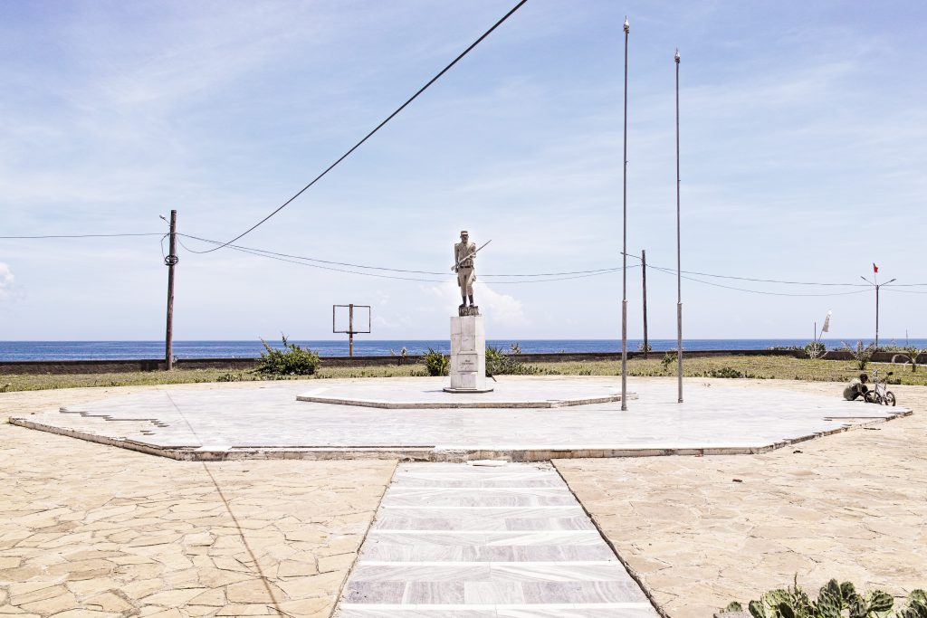 Pemba, Praca 25 de Setembro. Memorial in tribute to the start of the armed fight for national liberation