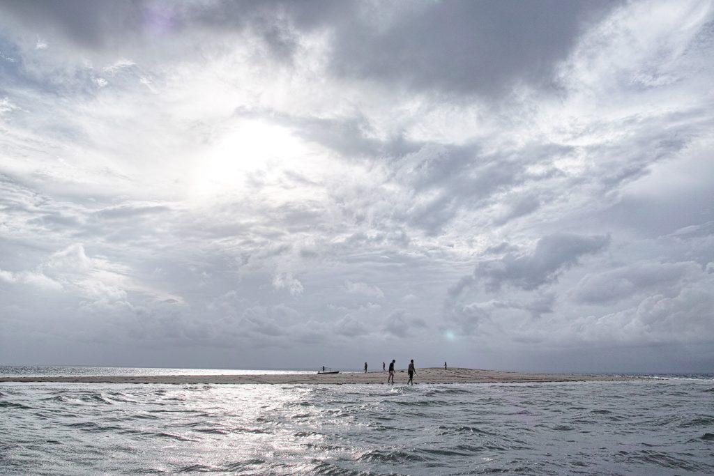 Sandbank in the Quirimbas close to Ibo Island
