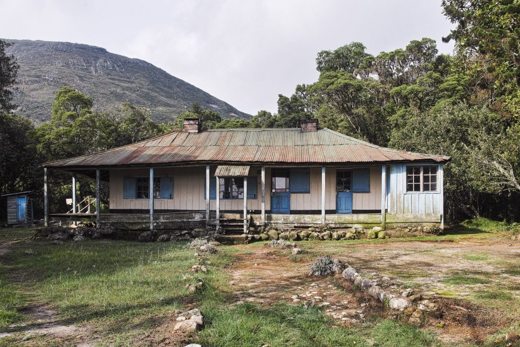 The Hope Rest Cottage at 1.981 meters elevation