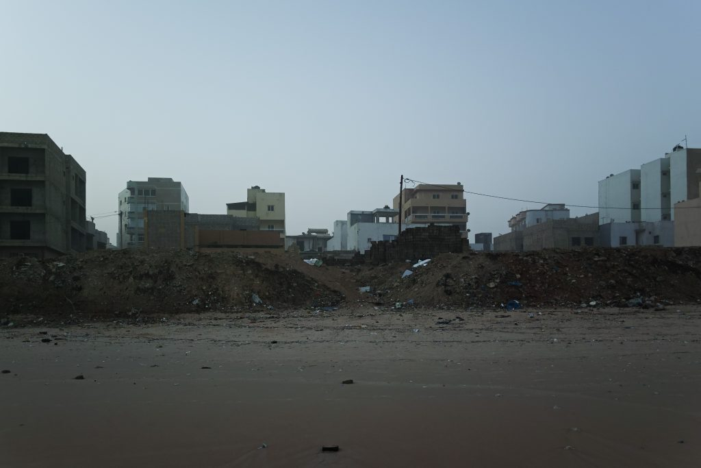 Beachfront in Yoff, Dakar