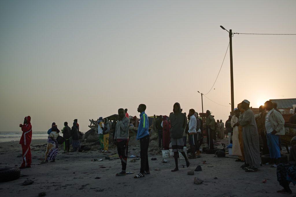 Fish market in Yoff, Dakar
