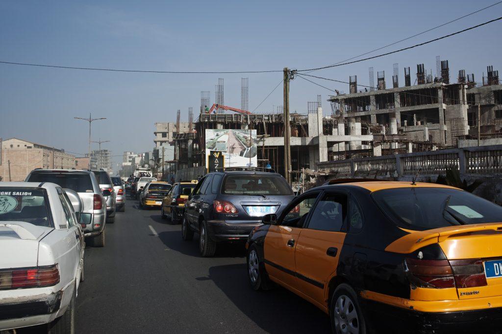 Traffic in Dakar
